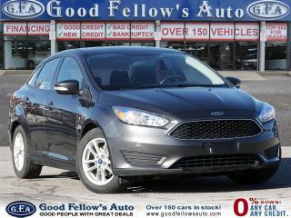 Used 2016 Ford Focus SE SDN, PARKING ASSIST REAR, REARVIEW CAMERA for sale in Toronto, ON