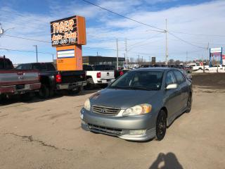 Used 2004 Toyota Corolla Sport*ONLY 199KMS*RUNS&DRIVES GREAT*AS IS SPECIAL for sale in London, ON