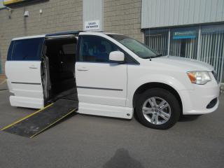 Used 2011 Dodge Grand Caravan Crew -Wheelchair Accessible Side Entry-Power for sale in London, ON