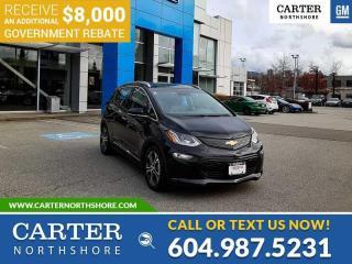 New 2020 Chevrolet Bolt EV Premier *PLUS $8,000 GOV. REBATE!* for sale in North Vancouver, BC