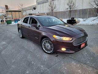 Used 2013 Ford Fusion Hybrid Platinum, Navigation, Leather, Sunroof, Aut for sale in Toronto, ON
