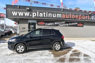 Used 2017 Chevrolet Trax LT BACKUP CAMERA!! BLUETOOTH!! FOG LIGHTS!! GREAT FUEL ECONOMY!! for sale in Saskatoon, SK