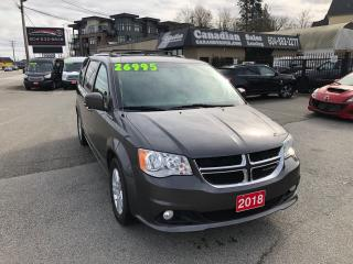 Used 2018 Dodge Grand Caravan Crew Plus 3.6L V6 6 SPD AUTO for sale in Langley, BC