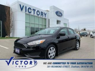 Used 2016 Ford Focus S | 14,500KM! | One Owner | Remote Start | for sale in Chatham, ON