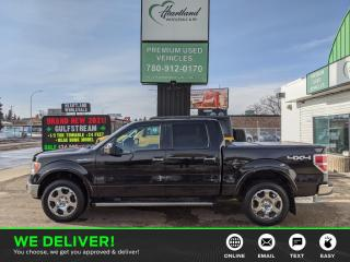 Used 2010 Ford F-150 Lariat LEATHER | REMOTE START | HEATED SEATS | SUNROOF-USED EDMONTON FORD DEALER for sale in Edmonton, AB
