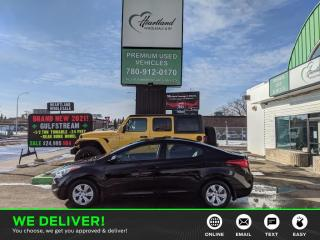 Used 2013 Hyundai Elantra GL CERTIFIED USED EDMONTON HYUNDAI DEALER for sale in Edmonton, AB