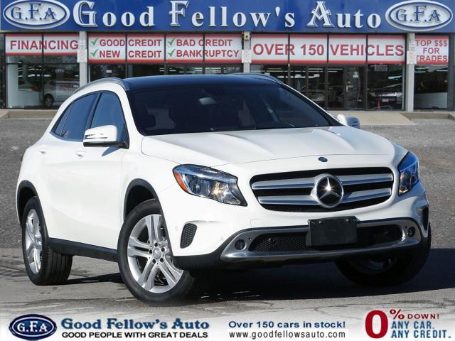 2015 Mercedes-Benz GLA 250 4MATIC, SUNROOF, LEATHER & POWER SEATS, BLIND SPOT