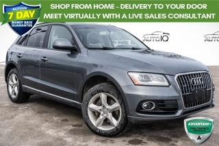 Used 2016 Audi Q5 2.0T Komfort AWD!! HEATED SEATS! LEATHER! for sale in Barrie, ON