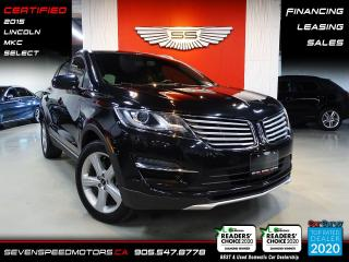 Used 2015 Lincoln MKC AWD CARFAX CLEAN | CERTIFIED | FINANCE | 9055478778 for sale in Oakville, ON