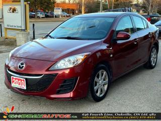 Used 2010 Mazda MAZDA3 GS|LOW KM|SUNROOF|BLUETOOTH|CERTIFIED for sale in Oakville, ON