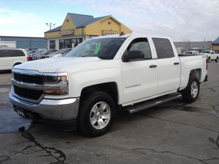 Used 2018 Chevrolet Silverado 1500 LS CrewCab 4x4 5.3L 5.5ft Box BackUpCam for sale in Brantford, ON