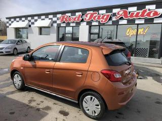 Used 2017 Mitsubishi Mirage EX, 3 Cylinder, Automatic,Bluetooth, A/C 41K for sale in Saskatoon, SK