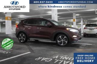 Used 2017 Hyundai Tucson Limited  - Navigation -  Leather Seats - $155 B/W for sale in Abbotsford, BC