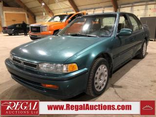 Used 1992 Honda Accord 4D Sedan for sale in Calgary, AB