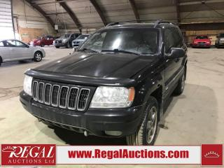 Used 2002 Jeep Grand Cherokee 4D Utility 4WD for sale in Calgary, AB