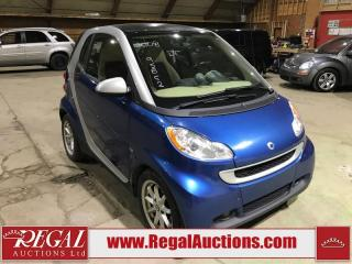 Used 2008 Smart fortwo 2D Coupe for sale in Calgary, AB
