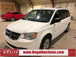 Used 2012 Dodge Grand Caravan 4D Sports VAN for sale in Calgary, AB
