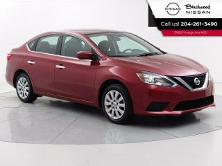 Used 2017 Nissan Sentra SV Accident Free, Heated Seats, Backup Camera, Bluetooth for sale in Winnipeg, MB
