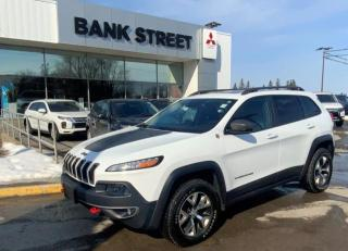 Used 2015 Jeep Cherokee Trailhawk for sale in Gloucester, ON
