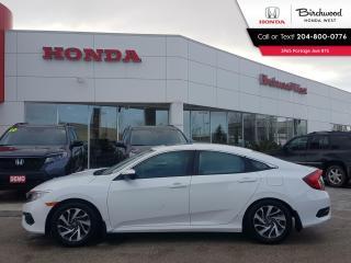 Used 2016 Honda Civic EX Sunroof - Heated Seats - Apple CarPlay - Android Auto for sale in Winnipeg, MB