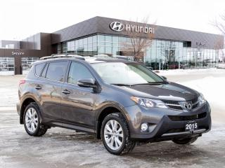 Used 2015 Toyota RAV4 Limited | Heated Seats | Navigation | Winter Tires | for sale in Winnipeg, MB