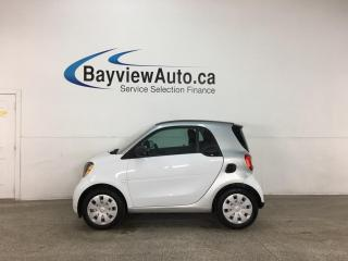 Used 2016 Smart fortwo Pure - AUTO! NAV! HTD LEATHER! ONLY 37,000KMS! for sale in Belleville, ON
