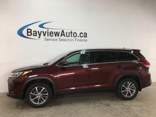 Used 2019 Toyota Highlander XLE - AWD! 8PASS! NAV! SUNROOF! HTD LEATHER! + SO MUCH MORE! for sale in Belleville, ON