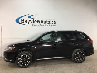 Used 2018 Mitsubishi Outlander Phev - HYBRID! AWD! 1/2 LEATHER! REVERSE CAM! ALLOYS! for sale in Belleville, ON