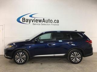Used 2020 Mitsubishi Outlander EX - ONLY 22 KMS! 7 PASS! AWD! SUNROOF! 1/2 LEATHER! ALLOYS! + MORE! for sale in Belleville, ON