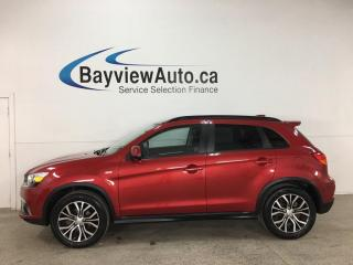 Used 2018 Mitsubishi RVR SE Limited Edition - AWD! REVERSE CAM! HTD SEATS! ALLOYS! + MORE! for sale in Belleville, ON