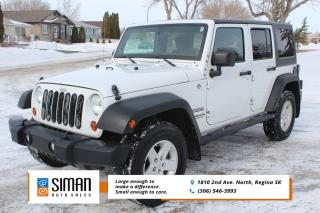 Used 2012 Jeep Wrangler Unlimited Sport EXCELLENT VALUE for sale in Regina, SK