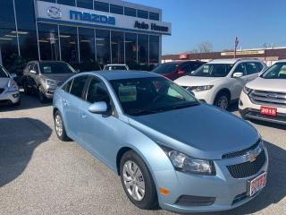 Used 2012 Chevrolet Cruze LT Turbo for sale in Sarnia, ON