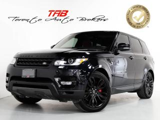 Used 2017 Land Rover Range Rover Sport V8 SC DYNAMIC I RED LEATHER I NAV I 21 IN WHEELS for sale in Vaughan, ON