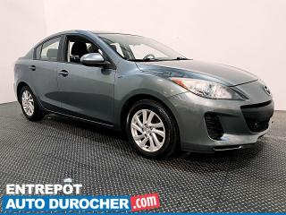 Used 2012 Mazda MAZDA3 GS-SKY - AUTOMATIQUE - CLIMATISEUR for sale in Laval, QC