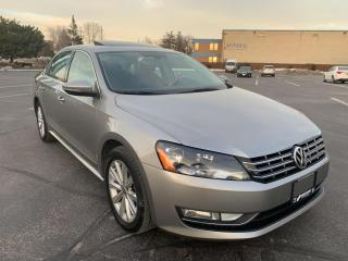 Used 2012 Volkswagen Passat 2.0 TDI DSG Highline Navigation for sale in Concord, ON