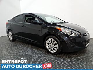 Used 2013 Hyundai Elantra GL - AUTOMATIQUE - CLIMATISEUR for sale in Laval, QC