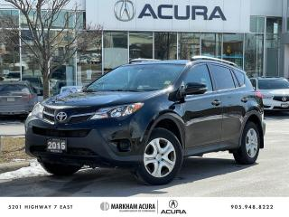 Used 2015 Toyota RAV4 FWD LE for sale in Markham, ON
