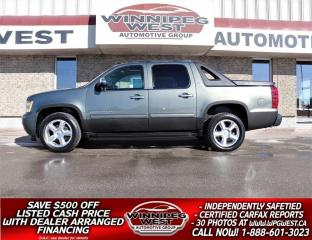 Used 2011 Chevrolet Avalanche LT2 1SC CREW 5.3L 4X4, LEATHER, SUNROOF, LOADED! for sale in Headingley, MB