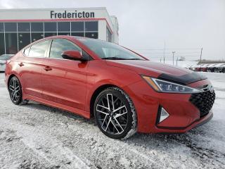 Used 2019 Hyundai Elantra Sport for sale in Fredericton, NB