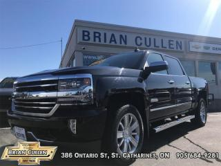 Used 2018 Chevrolet Silverado 1500 High Country  - Low Mileage for sale in St Catharines, ON