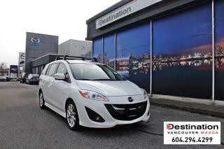 Used 2017 Mazda MAZDA5 GT-Fully loaded, perfect mini van that seats 6! for sale in Vancouver, BC