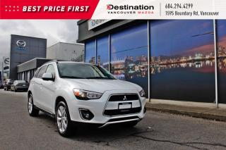 Used 2015 Mitsubishi RVR SE local, non smoker, rugged capability with AWD! for sale in Vancouver, BC