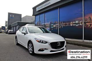 Used 2018 Mazda MAZDA3 GX-with 7yr/140,000kms power train warranty! for sale in Vancouver, BC
