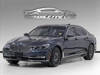 Used 2018 BMW 7 Series 750Li xDrive, Intelligent Safety, Display Key, No Accidents for sale in Concord, ON