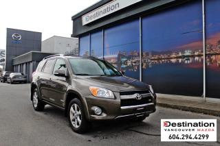 Used 2010 Toyota RAV4 Limited-Reliable w/ 4wd, sunroof, back up camera! for sale in Vancouver, BC