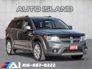 Used 2012 Dodge Journey CREW**7PASS**ALLOYS**V6 for sale in North York, ON