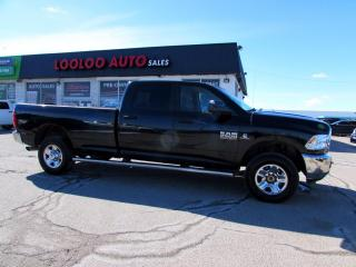 Used 2016 RAM 2500 SLT CUMMINS Turbo Diesel Crew Cab 4WD Certified for sale in Milton, ON