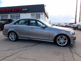 Used 2013 Mercedes-Benz C-Class C300 4MATIC Sport Bluetooth Sunroof Certified for sale in Milton, ON