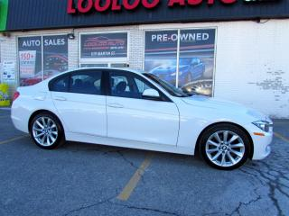 Used 2013 BMW 3 Series 320i XDRIVE Sedan AWD Leather Sunroof Certified for sale in Milton, ON