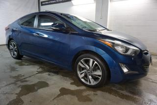 Used 2014 Hyundai Elantra LIMITED NAVI CAMERA CERTIFIED 2YR WARRANTY SUNROOF BLUETOOTH HEATED LEATHER ALLOYS for sale in Milton, ON